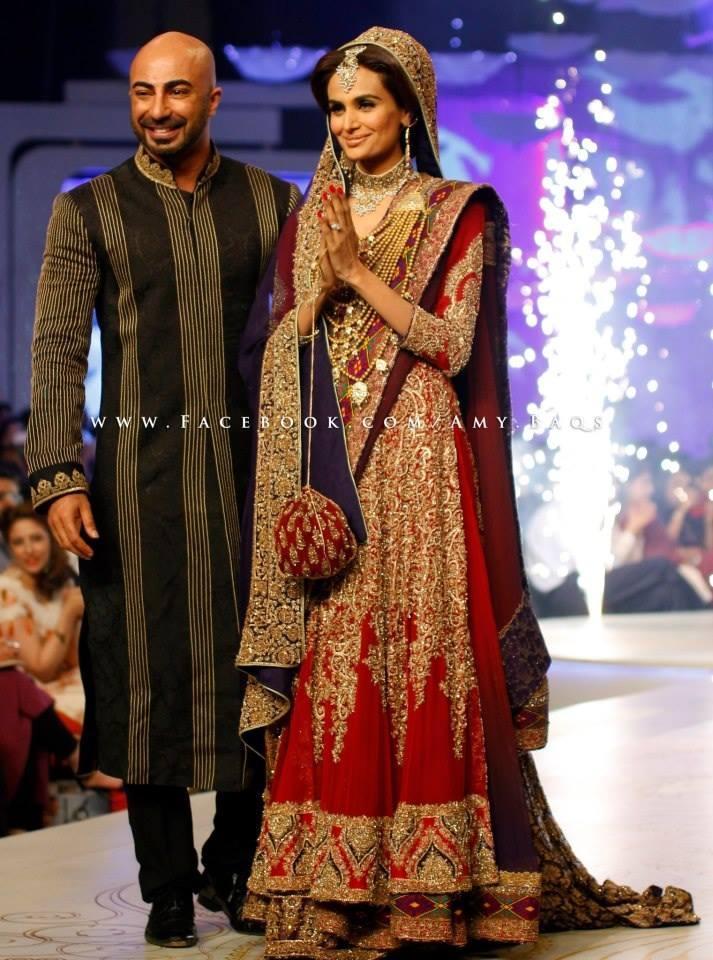 Best Bridal Dresses For Pakistani Brides 0014