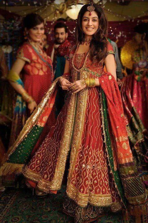 Best Bridal Dresses For Pakistani Brides 0020