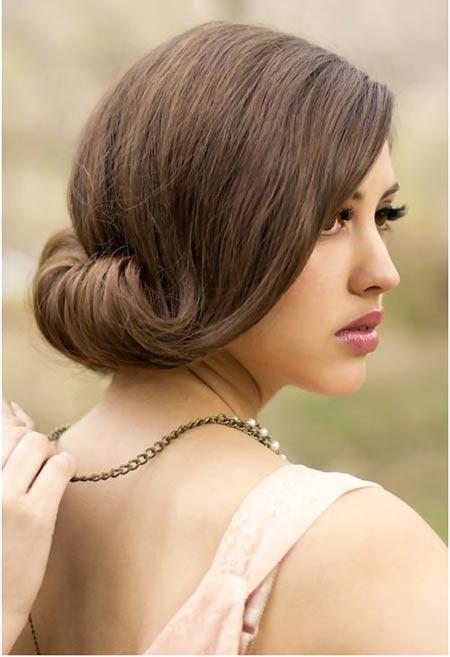 Best Bridal Hairstyles For Medium Hairs 001
