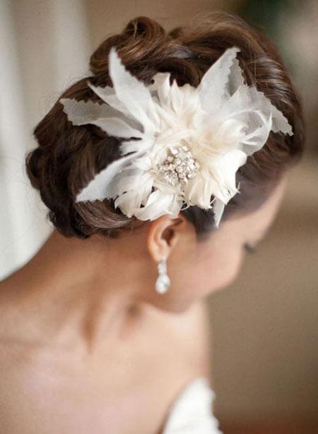 Best Bridal Hairstyles For Medium Hairs 002