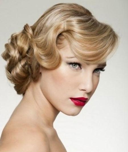 Best Bridal Hairstyles For Medium Hairs 005