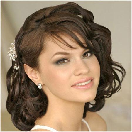 Best Bridal Hairstyles For Medium Hairs 006