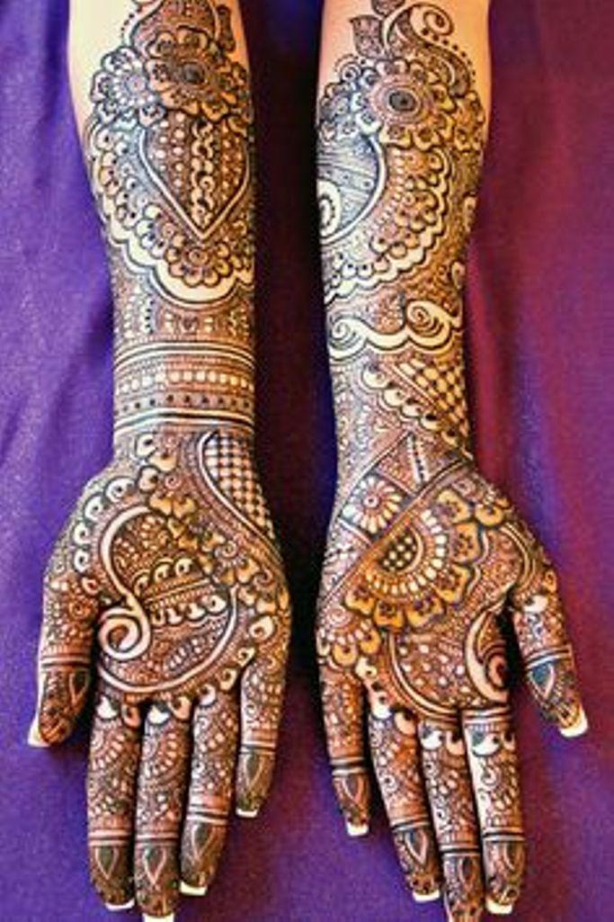 Bridal Mehndi Clothes Uk : Bridal mehndi designs for pakistani brides life
