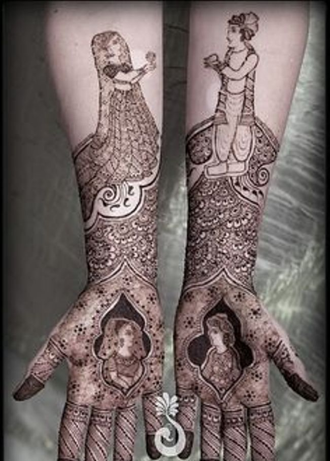 Bridal Mehndi Designs 2013 For Pakistani Brides 010