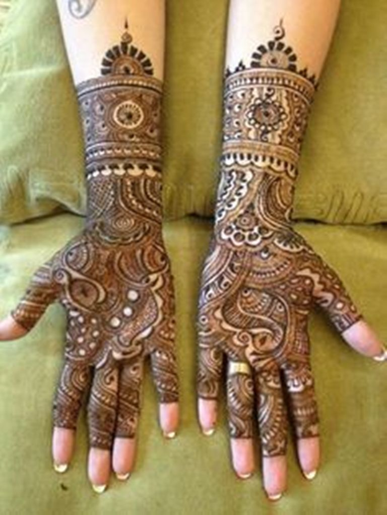 Mehndi Ideas Lahore : Bridal mehndi designs for pakistani brides life