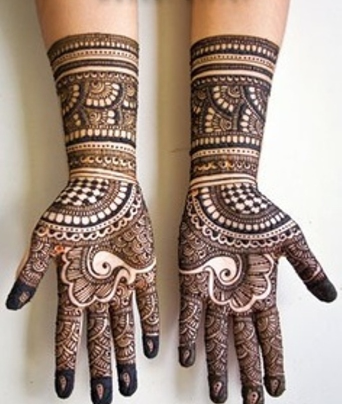 Bridal Mehndi Designs 2013 For Pakistani Brides 013