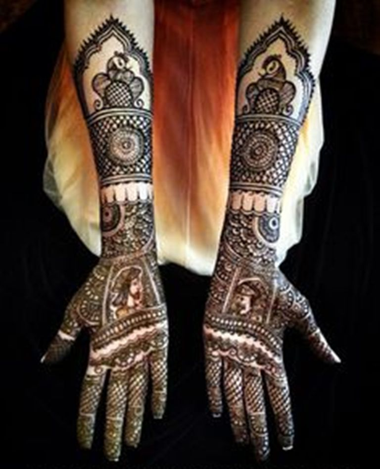 Mehndi Designs 2013 For Pakistani Brides - Life n Fashion