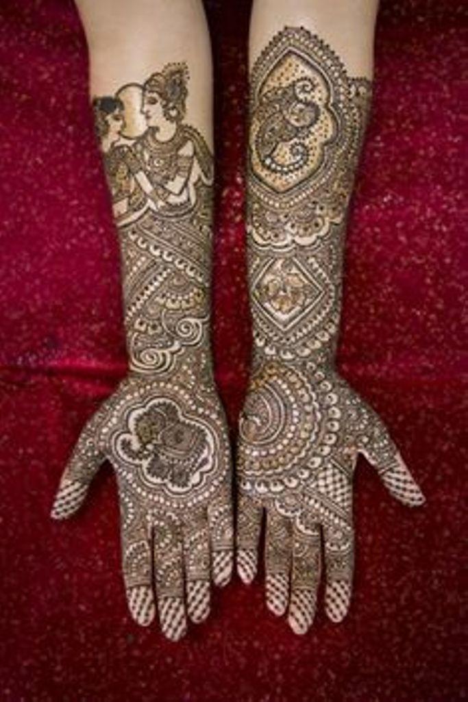 Bridal Mehndi Designs 2013 For Pakistani Brides 023 - Life