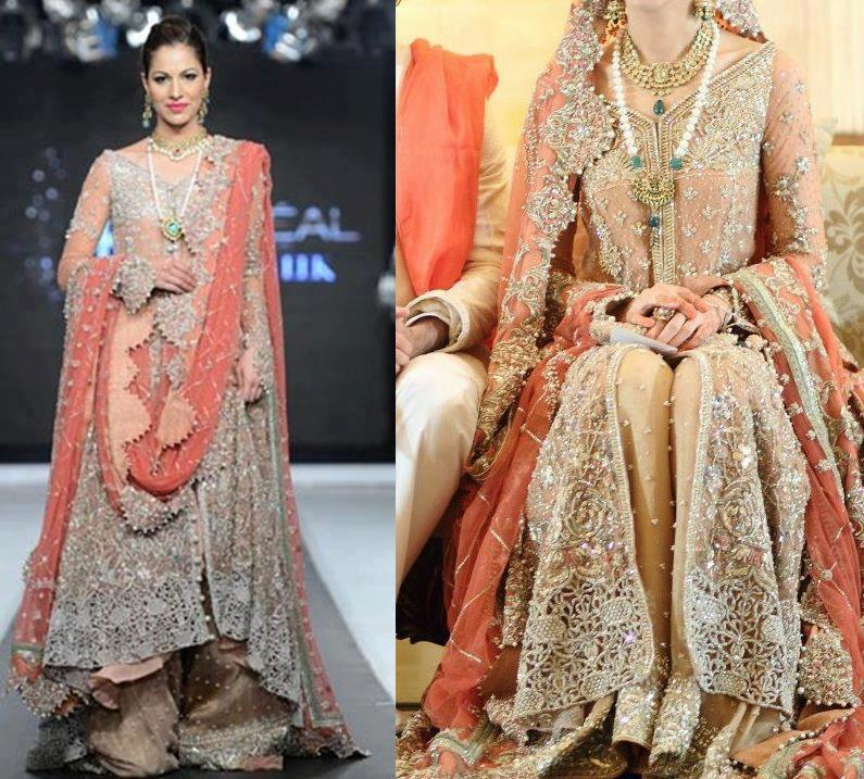 Bridal walima dresses 2013 for pakistani brides 0012 Fashion style in pakistan 2013
