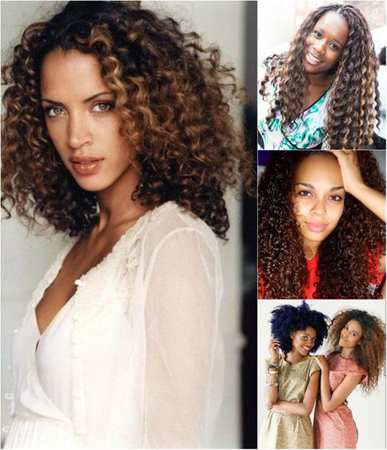Curly Wavy Hairstyles for Black Women 0015