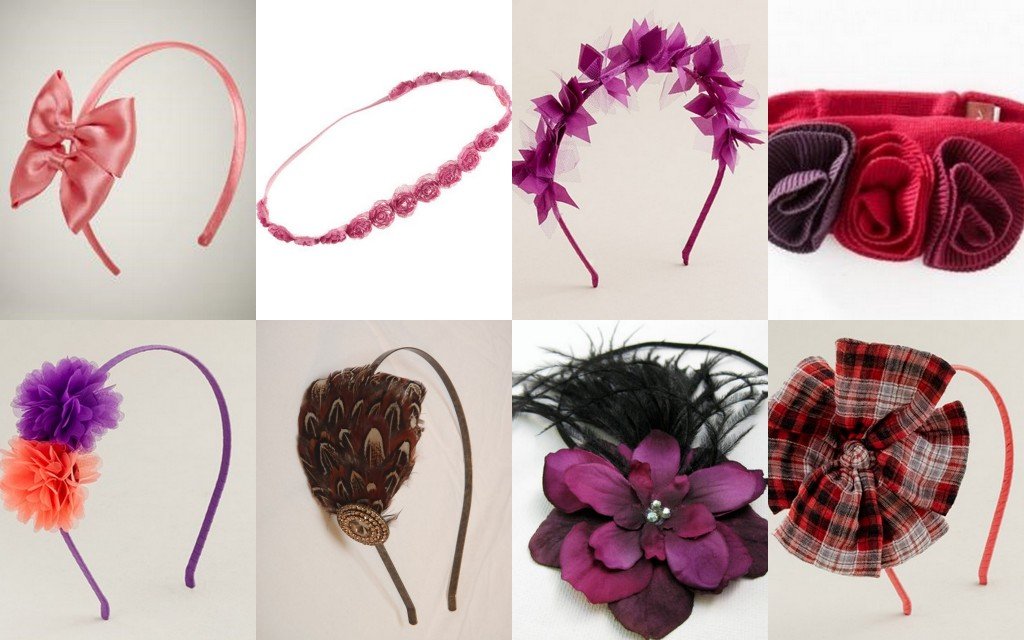 head bands designs for girls 002 - Accessories For Teenage Girls