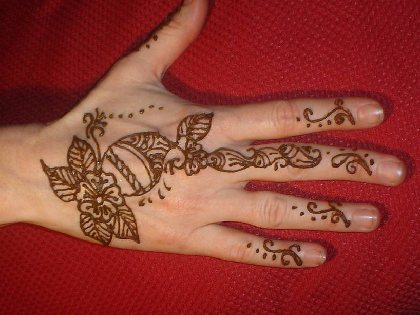 Latest Indian Mehndi Designs For Kids Hands 0010 Life N Fashion