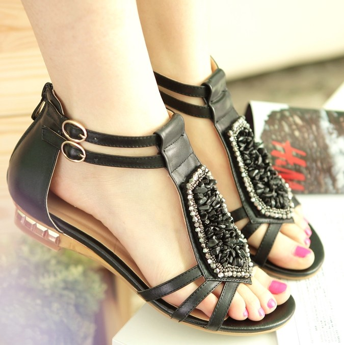 Latest Sandals Trends 2013 For Women 0022 Life N Fashion