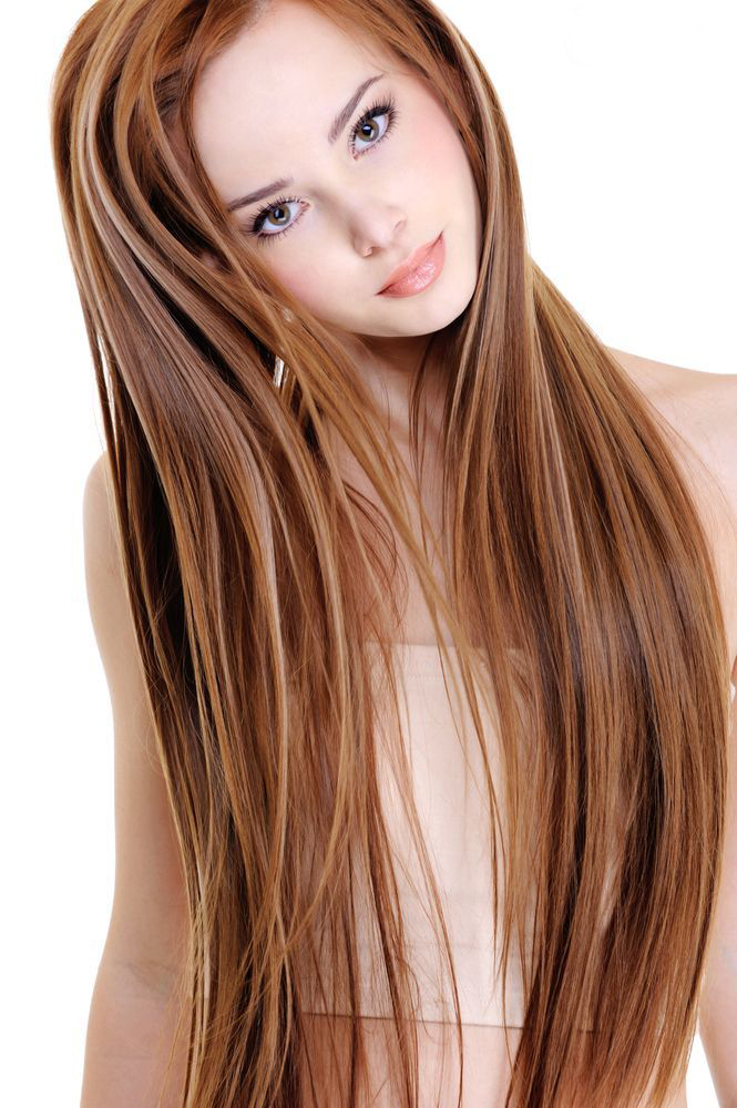 Female Long Hairstyles and trendy hair color