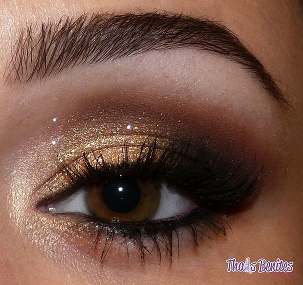 Makeup Ideas For Brown Eyes 004 Life N Fashion