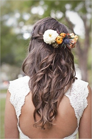 bridal hairstyles 2014 for long hair with veil 0013  life