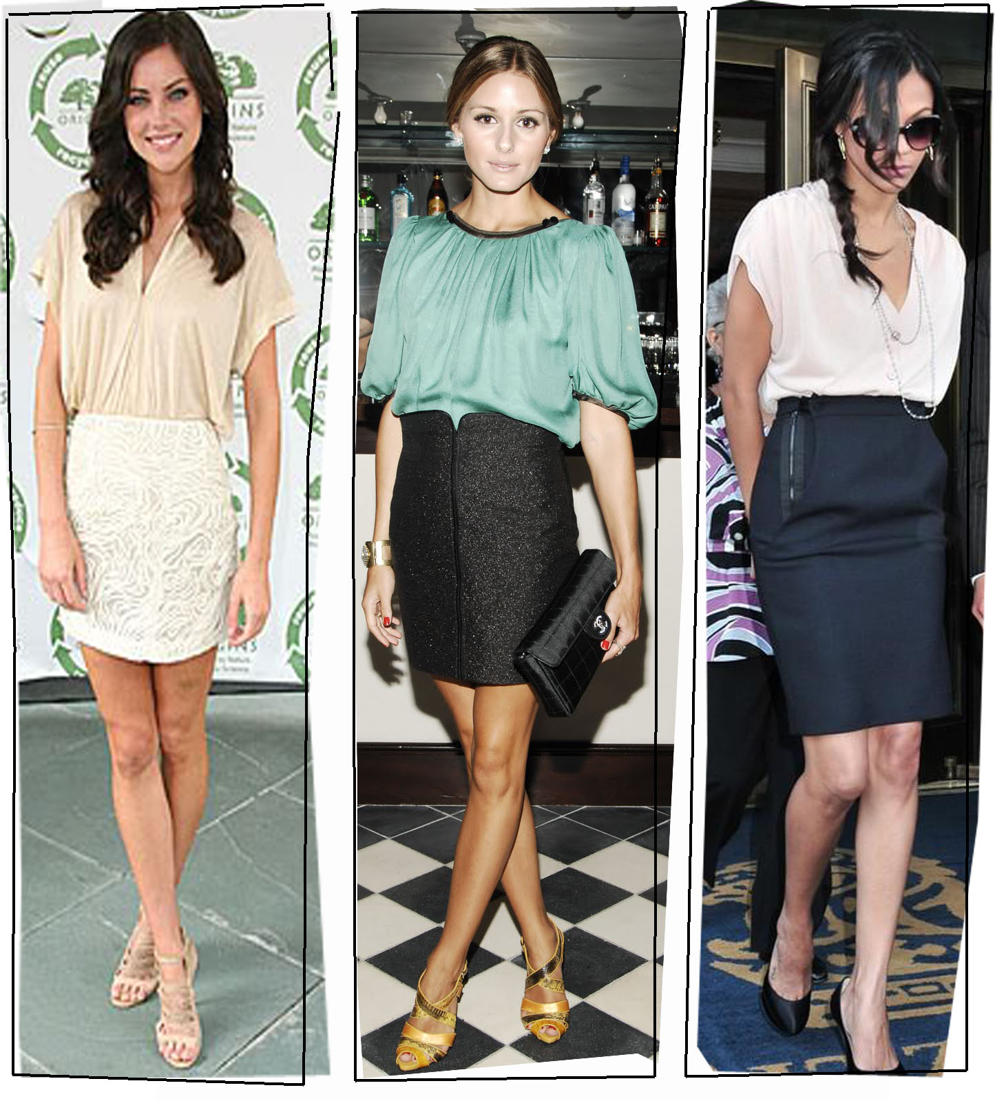 How To Wear A Pencil Skirt In The Winter Casually School ...