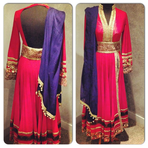Indian Bridal Dresses Designs 2013 By Manish Malhotra 001