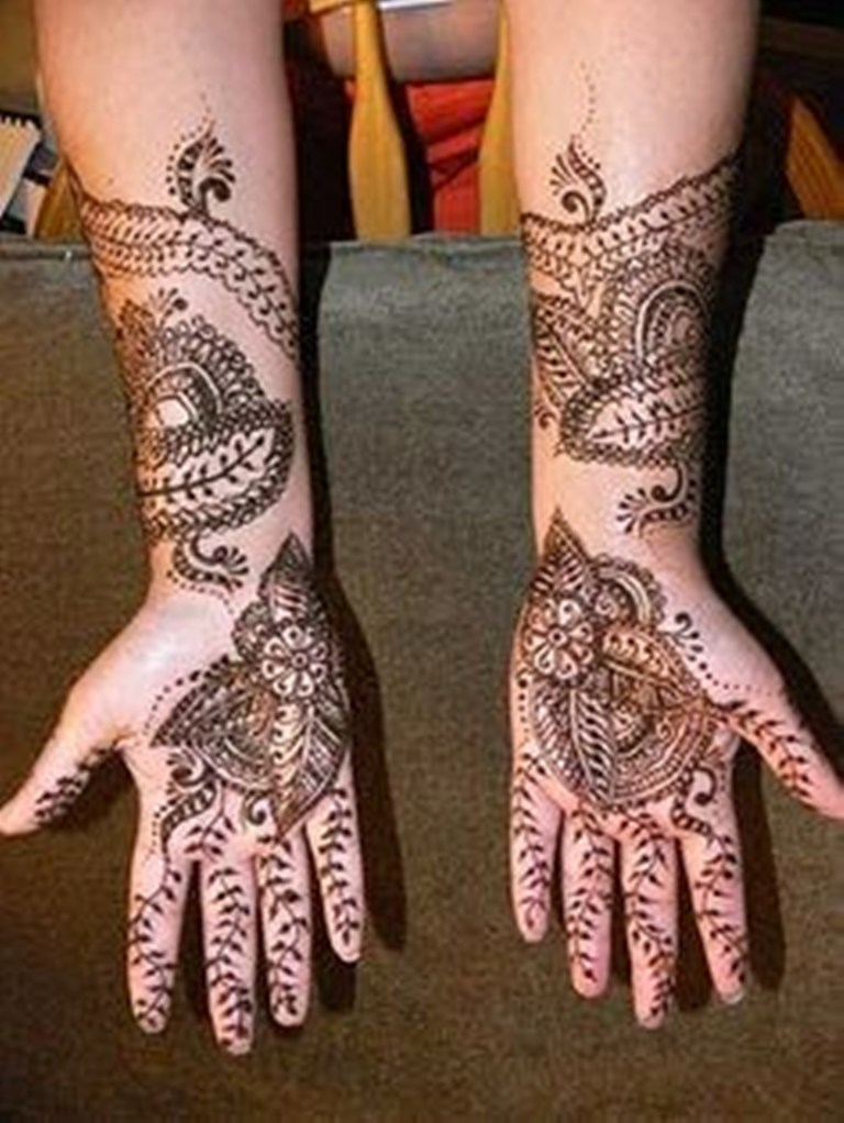 Indian Mehndi Designs For New Year Parties 001 Life N Fashion