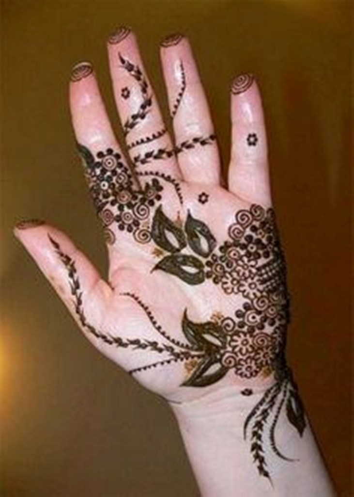 Indian Mehndi Designs For New Year Parties 012 - Life n