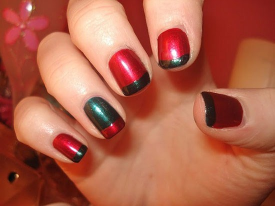 Latest Nail Art Designs 2013 For Christmas Parties Life N Fashion