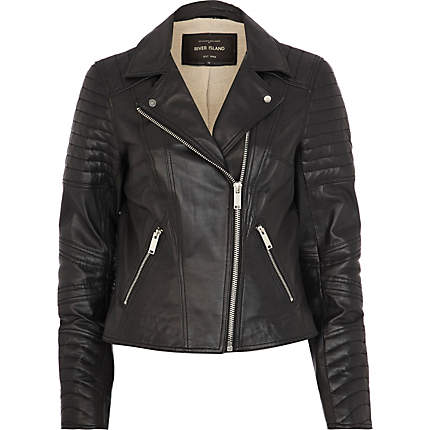 Winter Leather Jackets Trends 2013 For Women 004