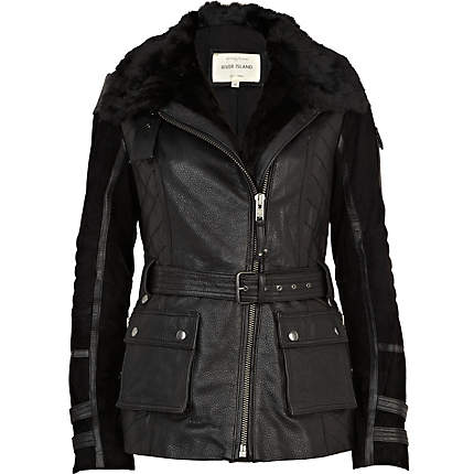 Winter Leather Jackets Trends 2013 For Women 008 Life N Fashion