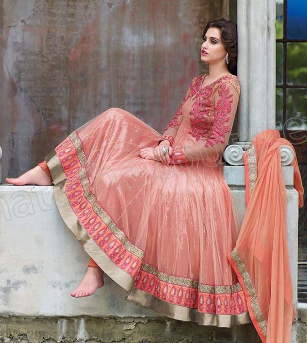Latest Anarkali Suits Trends 2014 For Women 004 Life N Fashion