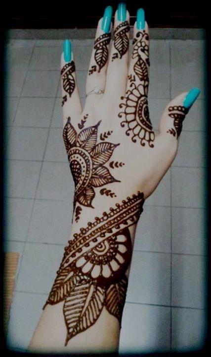latest mehndi designs 2014 for girls 0015 life n fashion