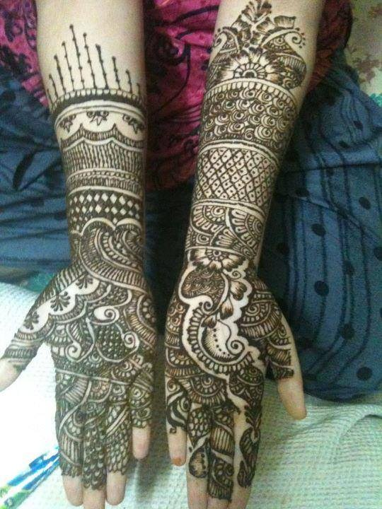 Latest Mehndi Designs 2014 For Girls 008