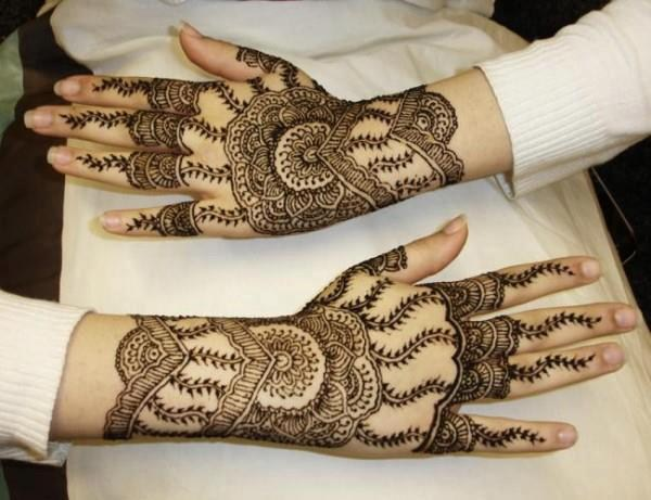 Latest Mehndi Designs 2014 For Girls 009