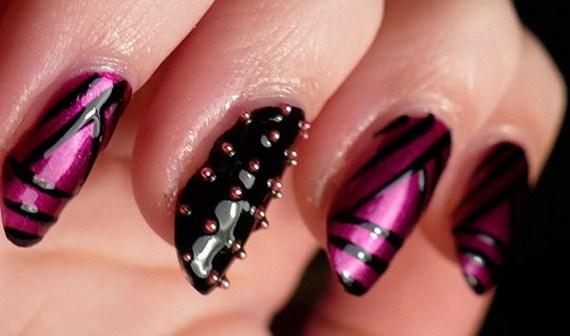 Latest Nail Art Designs 2014 003 Life N Fashion