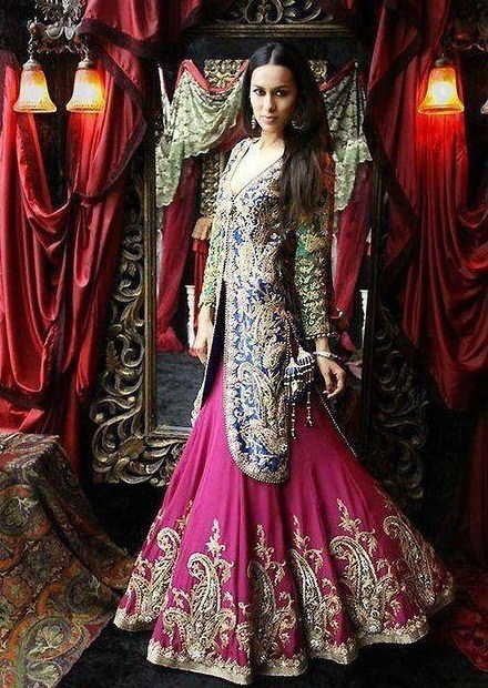 Latest Wedding Lehengas Trends 2014 0018 Life N Fashion