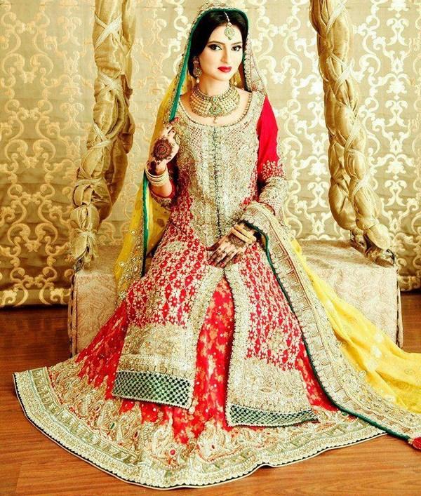 Latest Wedding Lehengas Trends 2014 005 Life N Fashion