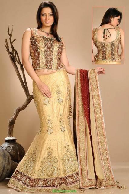 Lehenga Choli Dresses 2014 For Women 0011 Life N Fashion