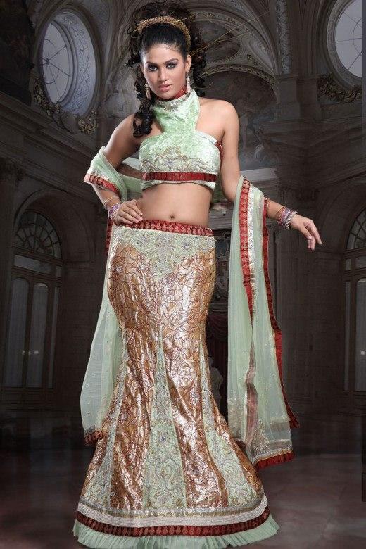 Lehenga Choli Dresses 2014 For Women 009