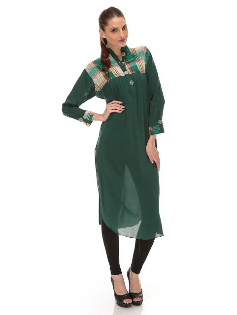 Long Shirts Latest Fashion Trends In Pakistan 017 Life N Fashion