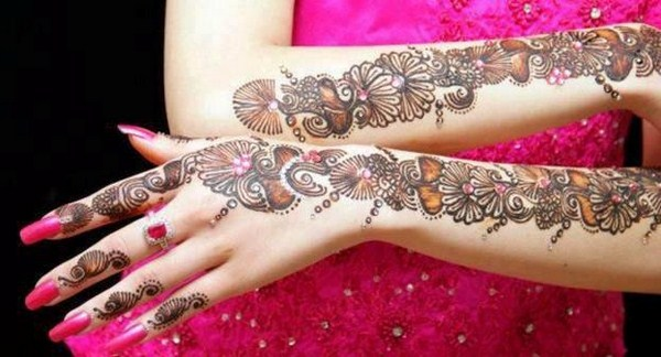 Mehndi Designs Please : Mehndi designs for weddings life n fashion