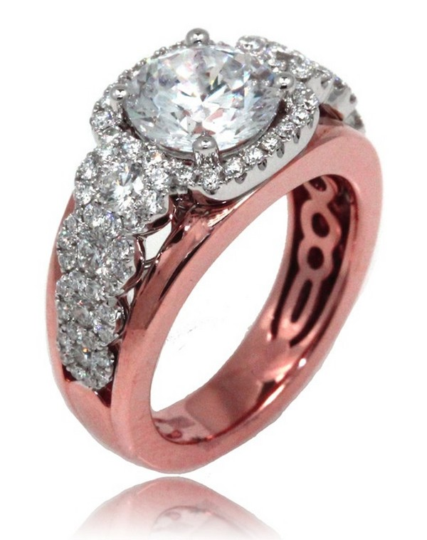 Rose Gold Engagement Rings For Girls 2 - Life n Fashion