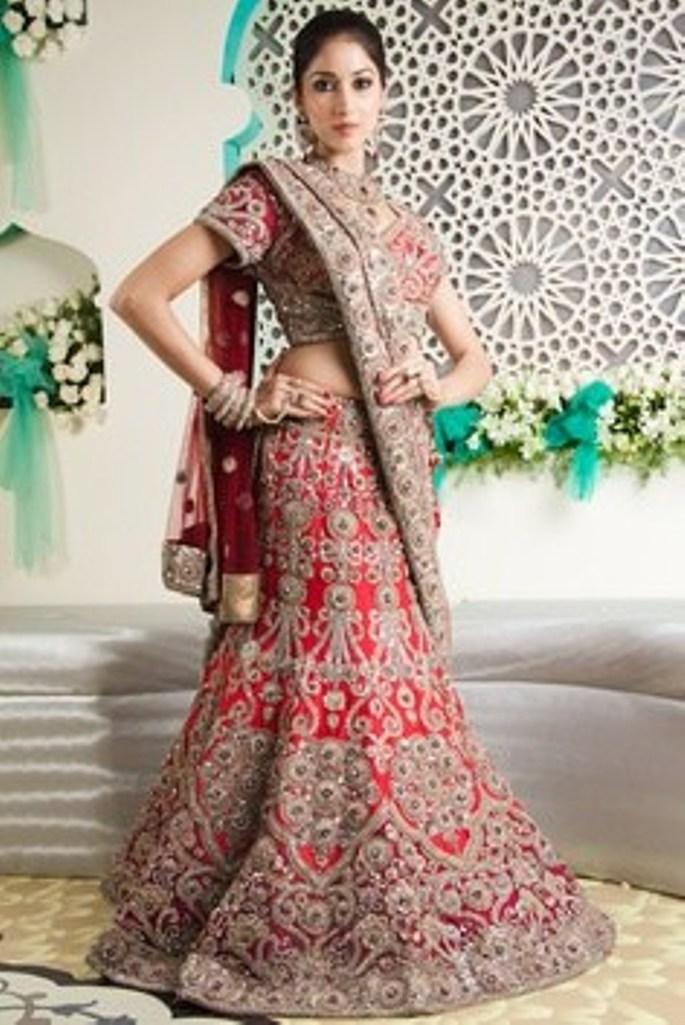 Trends Of Indian Wedding Dresses 2014 003