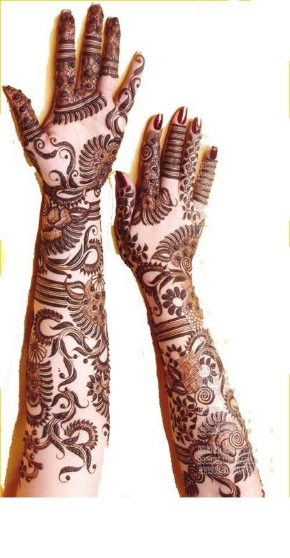 Arabic Henna Designs Uae 2014