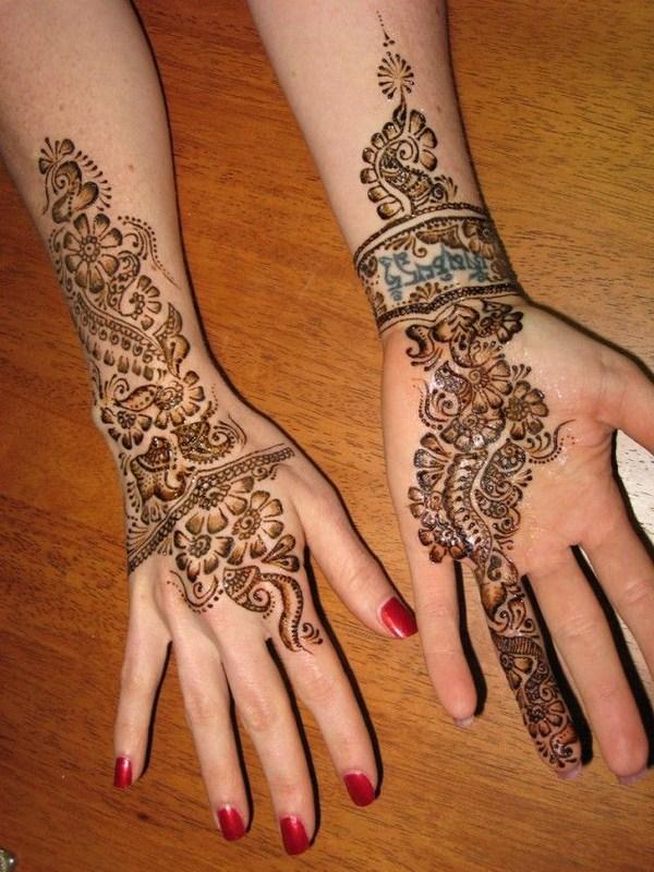 Arabic Mehndi Designs 2014 For Women 008 - Life n Fashion