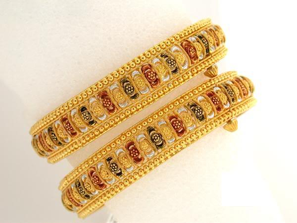 Latest Designs And Styles Of Gold Bangle For Women Life