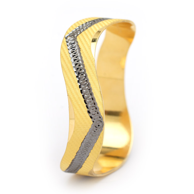 Gold Bangle Designs 2014 For Women 0018