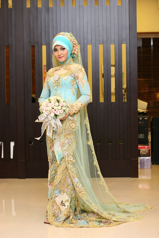 Latest Trends Of Arabic Wedding Dresses 2014 002 Life N