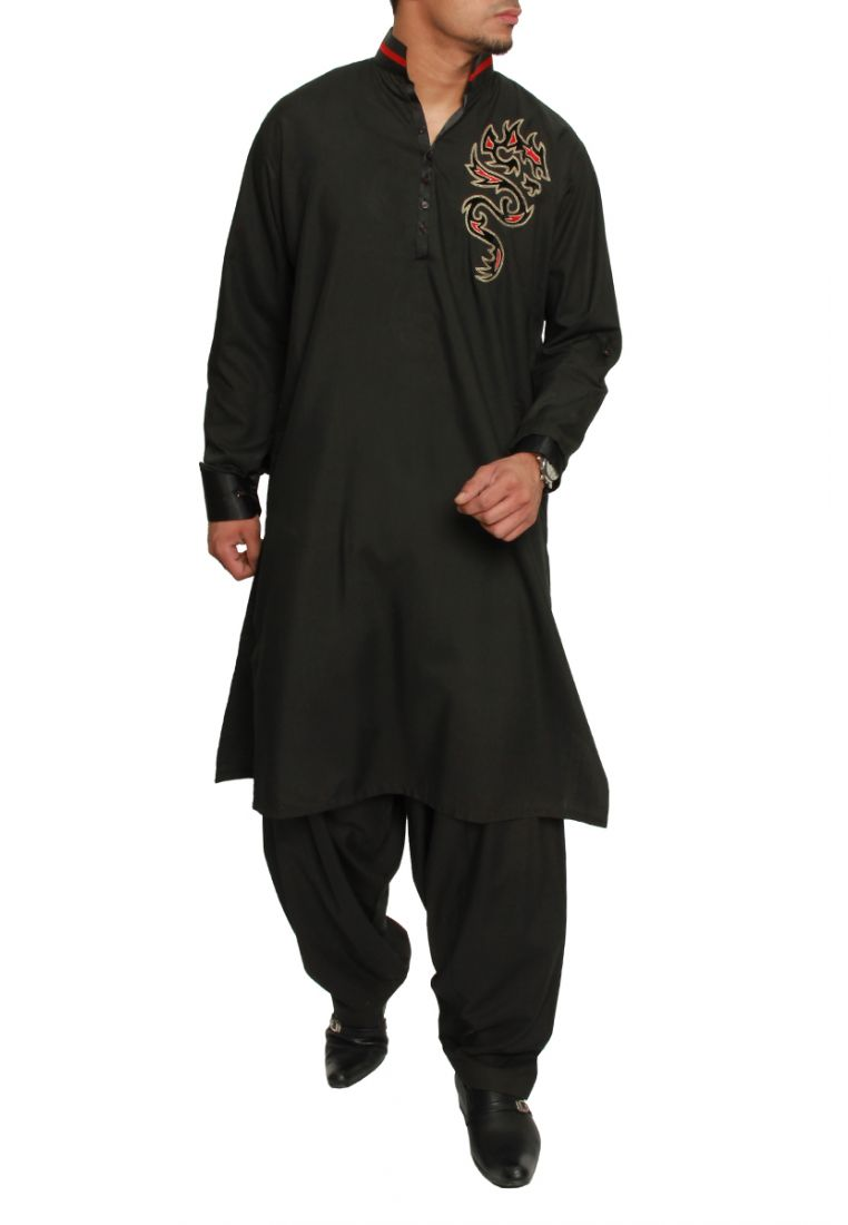 Pakistani Shalwar Kameez Designs 2014 For Men 009 Life N