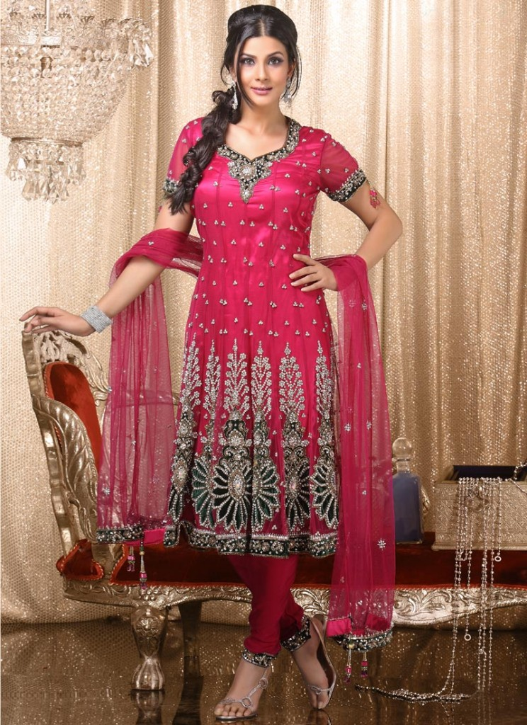 Trends Of Anarkali Dresses 2014 For Women 0011 Life N