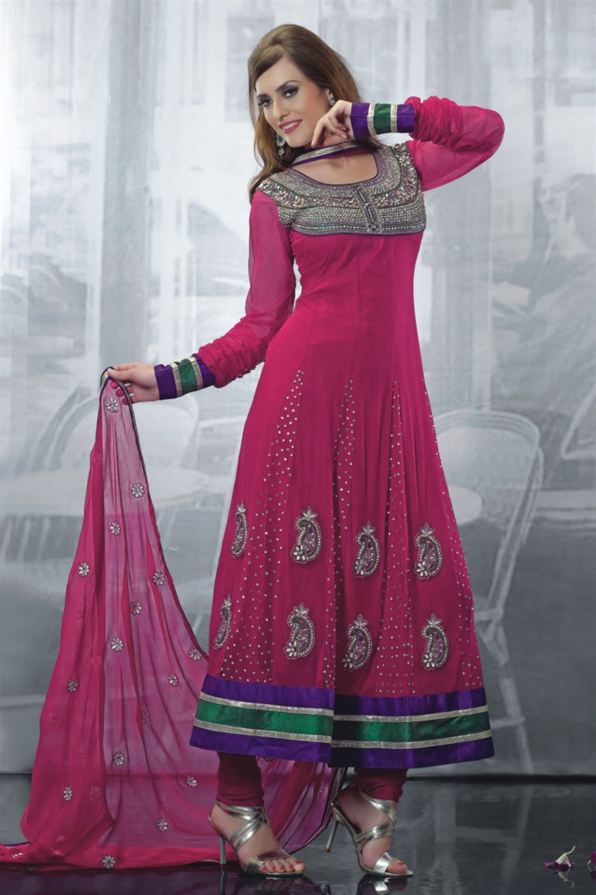 Trends Of Anarkali Dresses 2014 For Women 0018 Life N
