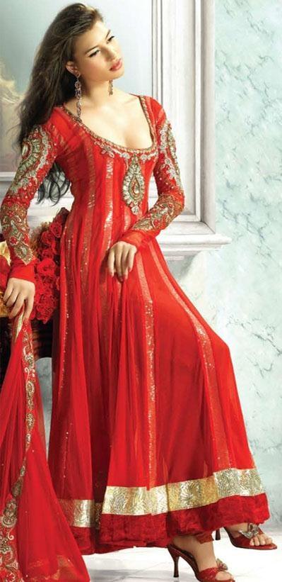 Trends Of Anarkali Dresses 2014 For Women 002