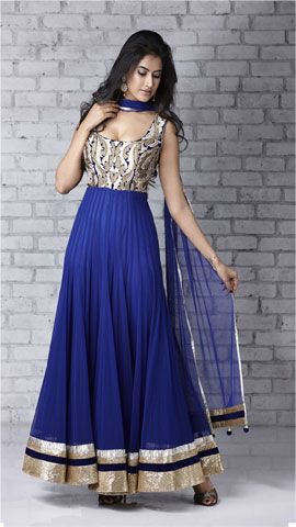 Trends Of Anarkali Dresses 2014 For Women 006 Life N Fashion